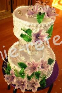 торт с марципаном, фото