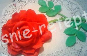 цветы из мастики, фото