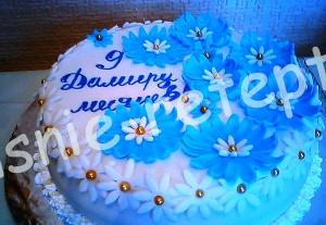 торт из мастики, фото