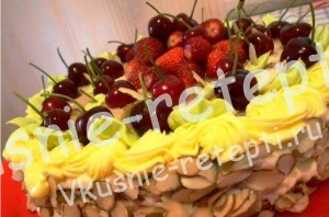 бисквитный торт Лето, фото