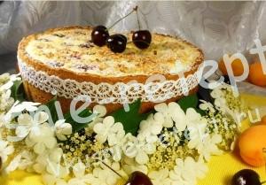 пирог с творогом, фото