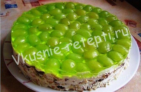 торт без выпечки, фото