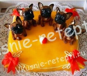 торт для детей, фото