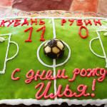 торт Футбольное поле, фото