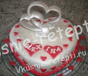 торт любовь, фото