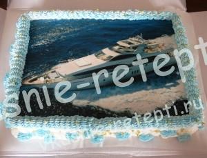 торт моряку, Торты на заказ фото
