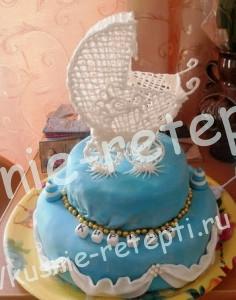торт на день рождение девочки