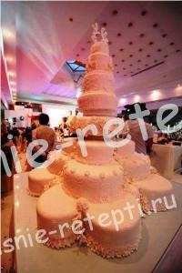 торты на свадьбу, фото