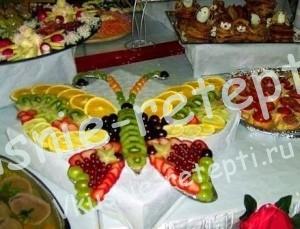 украшение блюд, фото