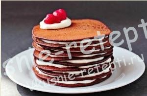 блинный торт, фото
