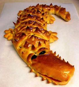пирог Крокодил фото