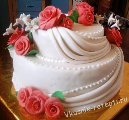 Как приготовить украшение для торта
