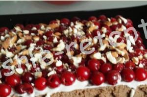 торт вишневый, фото