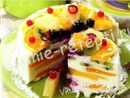 творожный торт, фото