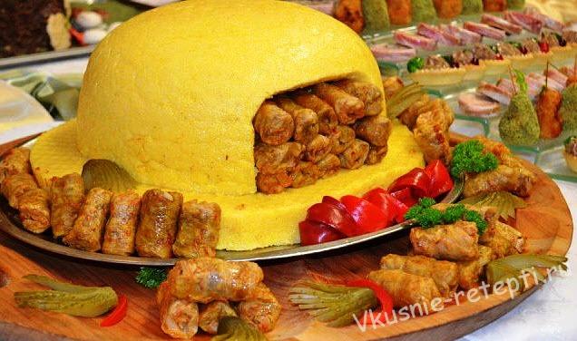 блюда из кукурузной муки рецепт с фото