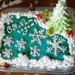 novogodnii tort