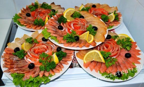 Холодные закуски На праздничный стол рецепты с фото на