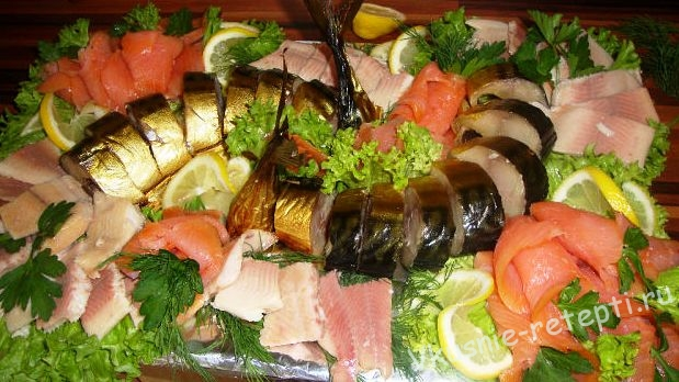 праздничные блюда из рыбы