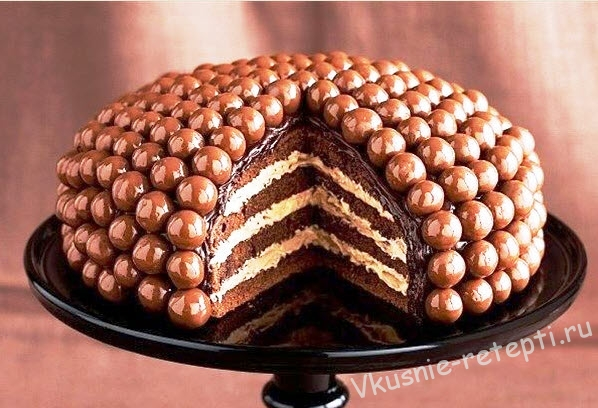 шоколадный торт Malteser рецепт