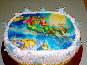 tort na novii god