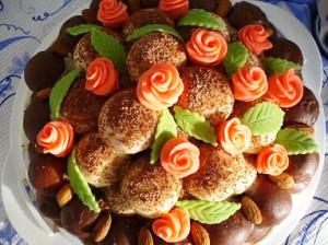 торт праздничный фото
