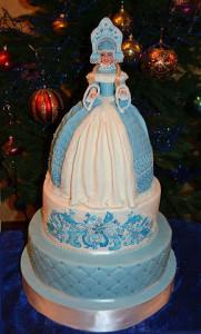 tort snegurocika