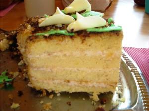 торт со сметаны