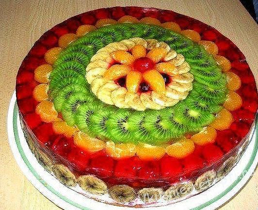 рецепт фруктового желе из желатина