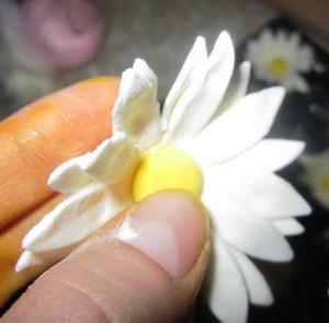 ромашки из мастики рецепт фото