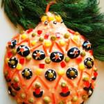 салат Новогодняя игрушка фото