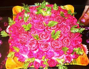 салат  шуба традиционный фото