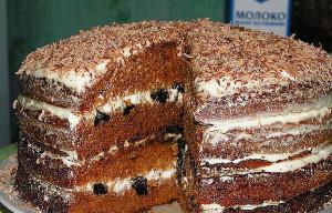 Торт Медовая нежность