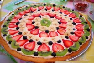 торт с фруктами фото, Фруктовый торт рецепт