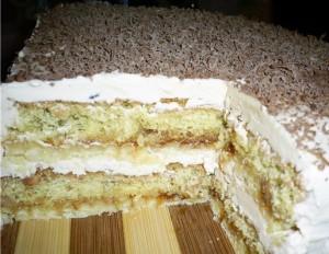 Вкусный новогодний торт