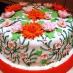 Бисквитный торт Сказка