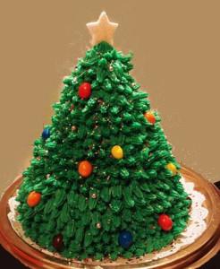 новогодний торт елка фото
