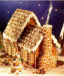 пряничный домик фото