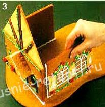 пряничный домик рецепт с фото