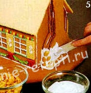 сборка пряничного домика фото