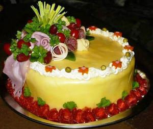 закусочный торт