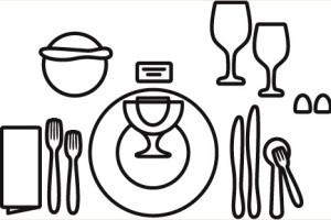 правила сервировки стола фото