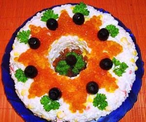 салат морской рецепт с фото