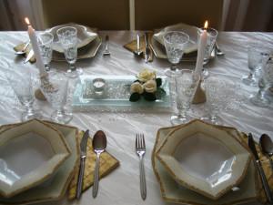 сервировка праздничного стола фото
