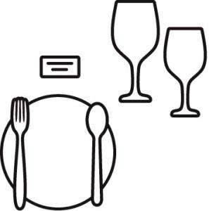 сервировка стола для официантов фото