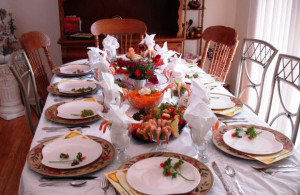 сервировка стола на день рожденье фото