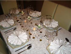 сервировка стола на праздник фото