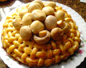 пирог из слоенного теста рецепт с фото