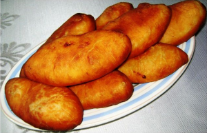 пирожки на картофельном отваре фото