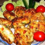 котлеты из куриного мяса с сыром фото