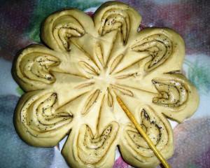 пирог в форме цветка фото